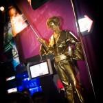 """Живая статуя """"Король рок-н-ролла"""""""