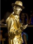 Заказть живую статую в Москве на выставку или презентацию