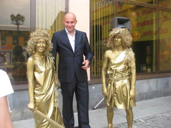 Живые статую на http://artstatui.ru/