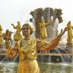 живая скульптура в Москве на мероприятие