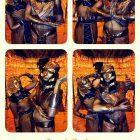 Живые статуи Фараон и Клеопатра