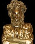 Живая статуя венеция