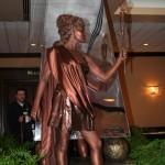 Живая статуя на свадьбу древнегреческая