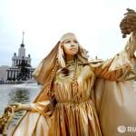 Живая статуя Москва
