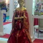 Живая статуя Королева