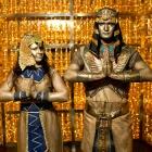 Живые скульптуры на раус