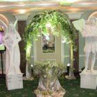 Живые статуи Орфей и Эвридика